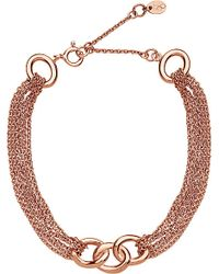 Links of London - Metallic Sterling Silver Signature Multi Chain Bracelet - Lyst