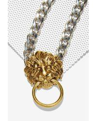 Nasty Gal - Metallic Aint Lyin' Chain Necklace - Lyst
