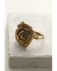 Alkemie | Metallic Wild Rose Ring | Lyst