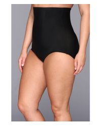 Tc Fine Intimates | Black Plus Size Just Enough® Hi-waist Brief 4005 | Lyst
