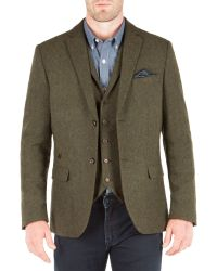Racing Green - Green Empire Heavy Twill Blazer for Men - Lyst