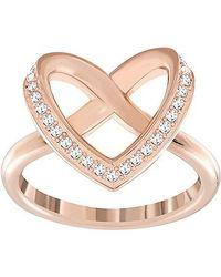 Swarovski | Pink Cupidon Ring | Lyst