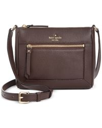 kate spade new york | Brown Cobble Hill Deni Crossbody | Lyst