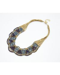 Nakamol | Multicolor Olympia Necklace-hematite | Lyst