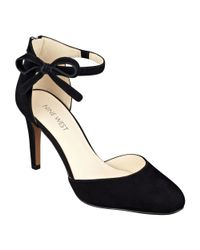 Nine West | Black Howley Ankle Strap Pumps | Lyst