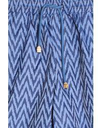 Missoni - Blue Ikat Swim Shorts for Men - Lyst