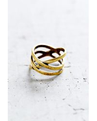 Urban Outfitters | Metallic All The Ways Ring | Lyst