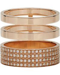 Repossi | Metallic Berbere Module Cage Ring | Lyst