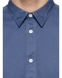 Acne Studios - Blue 'christopher' Oxford Shirt for Men - Lyst