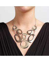 John Lewis | Metallic Large Cut Out Circle Necklace | Lyst