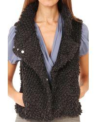 IRO - Gray Catleen Vest Grey - Lyst