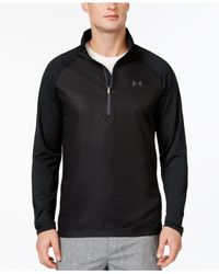 Under Armour - Black Men's Sweet Spot Half-zip Golf Pullover for Men - Lyst