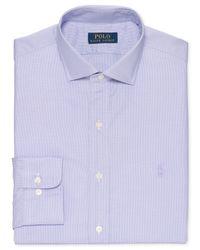 Polo Ralph Lauren | Purple Herringbone Twill Puppytooth Dress Shirt for Men | Lyst