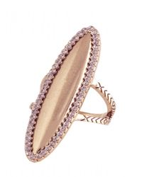 House of Harlow 1960 | Pink Geodesic Cocktail Ring | Lyst
