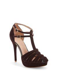 Joie | Red 'Rexanne' Platform Sandal | Lyst