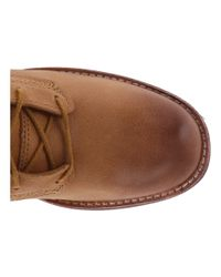 Timberland Brown Whittemore Fabric And Leather Lace-up