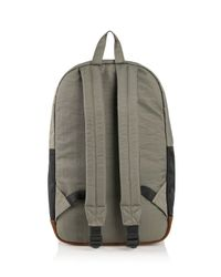 DIESEL - Gray M-slash Backpack for Men - Lyst