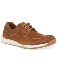Clarks | Brown Men's Allston Edge Boat Shoes for Men | Lyst