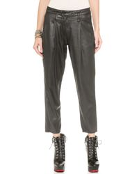 DWP - Drew Crop Pants - Luca Black - Lyst