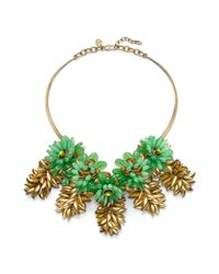 Tory Burch | Green Brynn Collar Necklace | Lyst