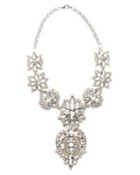 Deepa Gurnani | White Sloane Necklace | Lyst