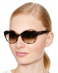 kate spade new york - Black Kiersten Sunglasses - Lyst