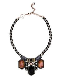 Nocturne | Black 'noa' Collar Necklace | Lyst