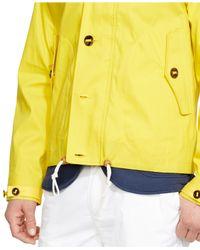 Polo Ralph Lauren - Yellow Twill Anorak Jacket for Men - Lyst