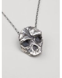 Maxime Llorens | Metallic 'Neanderthal' Pendant Necklace | Lyst