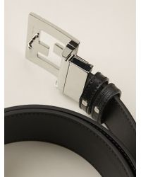 Fendi | Black 'college' Belt for Men | Lyst