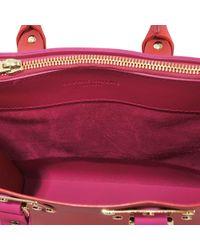 Sophie Hulme - Red Square Zip Tote Bag - Lyst