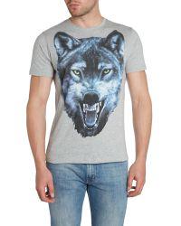 DIESEL - Blue 't-diego-ia' T-shirt for Men - Lyst
