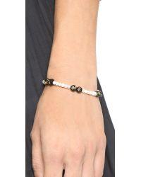 Venessa Arizaga | Black Me Me Me Bracelet - Pearl Multi | Lyst
