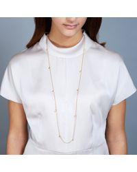 Astley Clarke | Orange Moonstone Long Necklace | Lyst