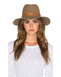 Janessa Leone - Brown Clay Hat - Lyst