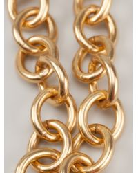 Gerard Yosca - Metallic Double Necklace - Lyst