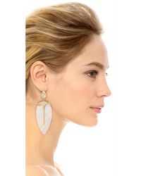 Aurelie Bidermann - Metallic Talitha Earrings - Lyst