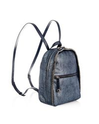 Stella McCartney - Blue 'Falabella' Backpack - Lyst