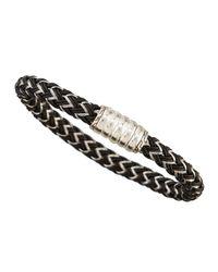 John Hardy   Black Bedeg Men's Nylon Cord Bracelet   Lyst