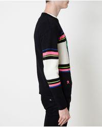Saint Laurent | Multicolor Dinosaur Patterned Knit for Men | Lyst