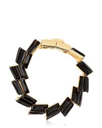 Giuseppe Zanotti - Black Crystal Collection Bracelet - Lyst