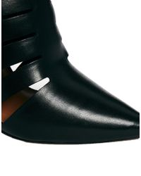 ALDO - Black Acaren Heeled Mule Shoes - Lyst