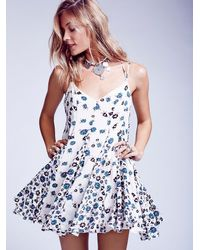 Free People | Multicolor Fp X Womens Fp X Yuma Swing Dress | Lyst