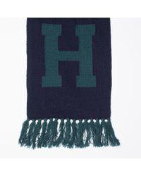 Tommy Hilfiger | Green Wool Blend Scarf for Men | Lyst