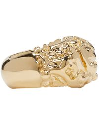 Acne Studios - Metallic Gold Marioline Ring - Lyst