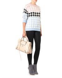 J Brand - Black Maria Coated High-Rise Skinny Jeans - Lyst