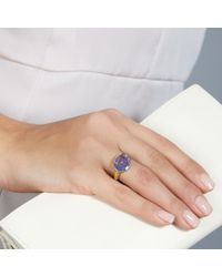Pippa Small - Metallic Tanzanite Greek Ring - Lyst
