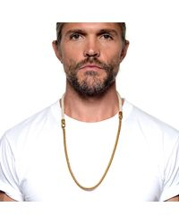 Lulu Frost | Metallic G. Frost 50/50 Necklace - Ivory for Men | Lyst