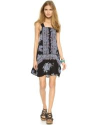 Free People - Black Marla Dreams Dress - Lyst