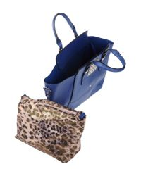 Thierry Mugler - Blue Doctor's Handbag - Lyst